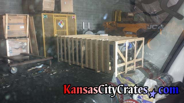 Large Slat crate for machinery in Kansas City MO 64108