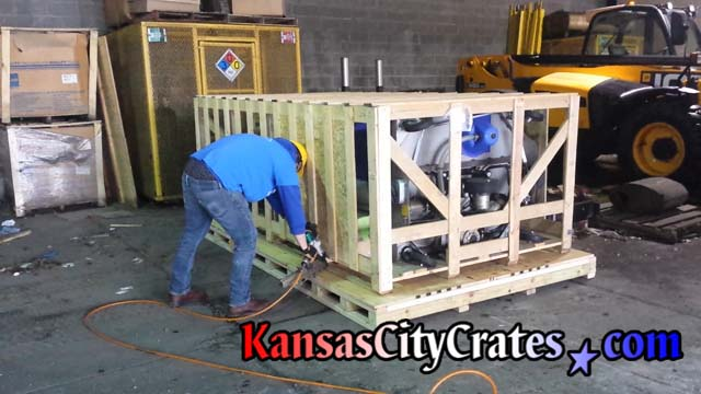 Crater finishes crate and pallet at Kansas City Area Transportation Authority