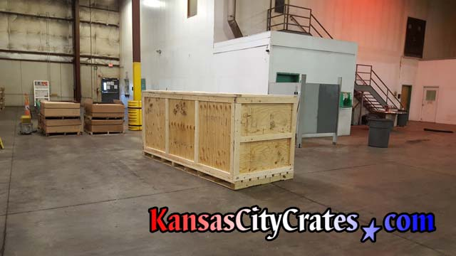 165 Cubic Foot Industrial crate