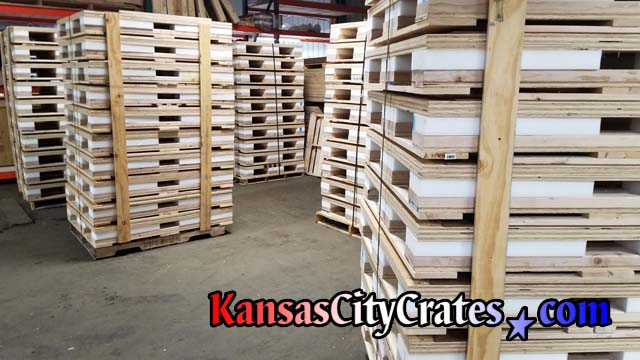 Shock Pallets by Kansas City Crates
