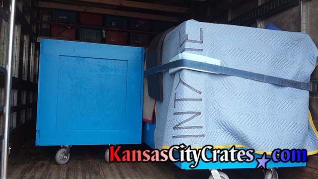 Convention carts delivered to Farmland Industries to launch of Bacon Club 2014